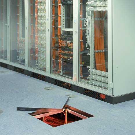 Фальшпол для серверной или электрощитовой