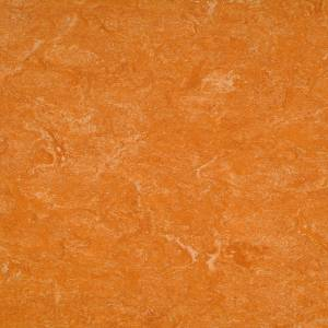 Натуральный линолеум Marmorette PUR 125-073 spicy orange