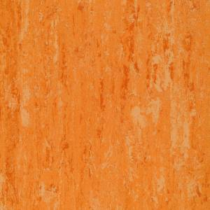 Натуральный линолеум Linodur LPX 151-072 peach orange